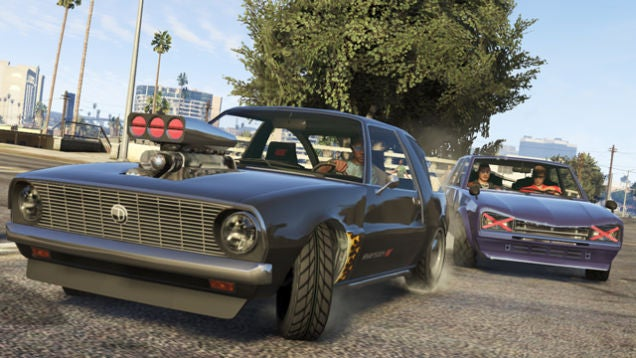 Grand Theft Auto V Update Gives You All The Cars You Really Want