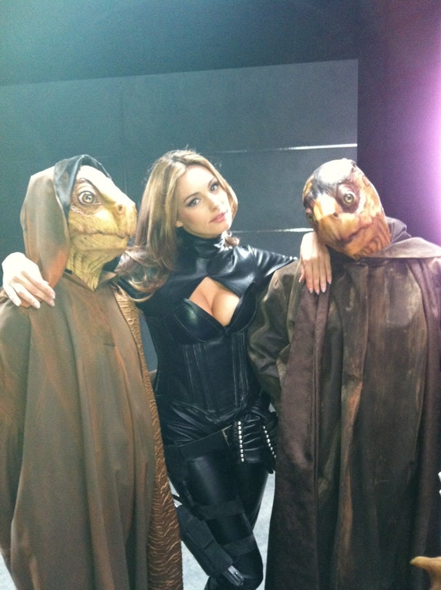 The Cheesiest Thing You'll See Today: Piranha 3-D actress tweets from the set of Heavy Metal