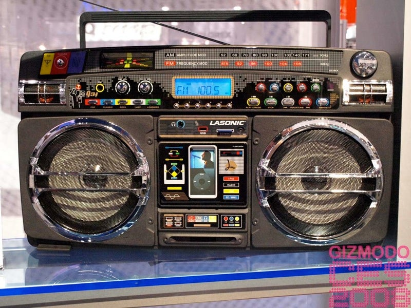 Legendary lasonic i931 ipod dock ghetto blaster pics price and release date - Ghetto blaster lasonic i931 ...