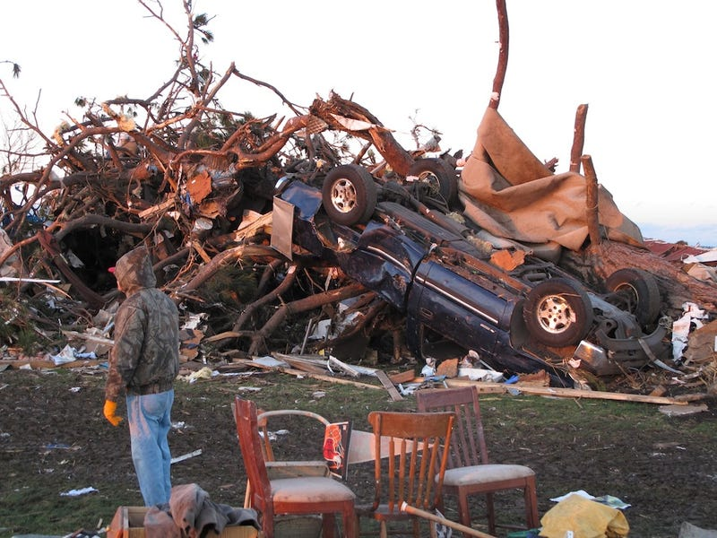 Dozens of Tornadoes Rip Through the Midwest, Killing at Least 6