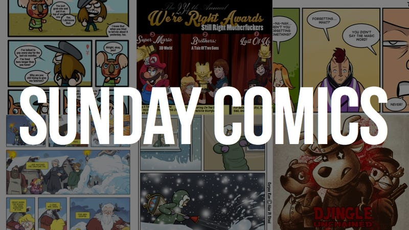 Sunday Comics: The Magic Word