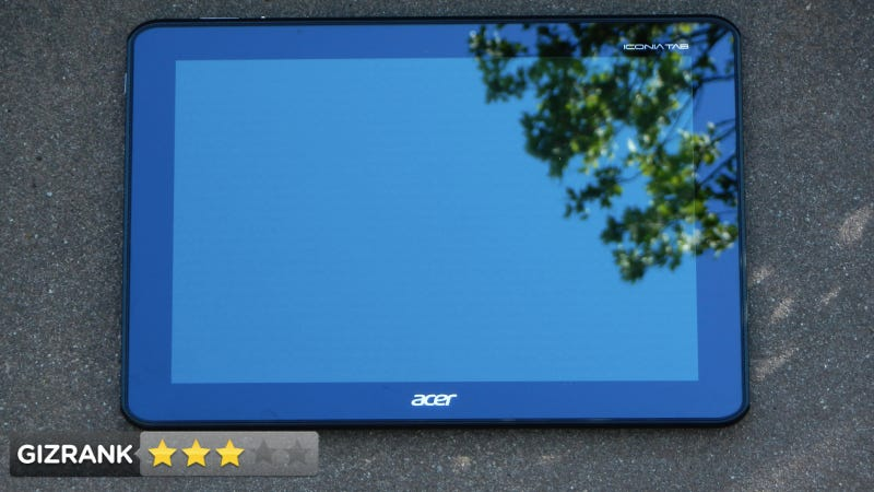 Acer Iconia Tablet Lightning Review: The Transformer Prime's Chubby Cousin