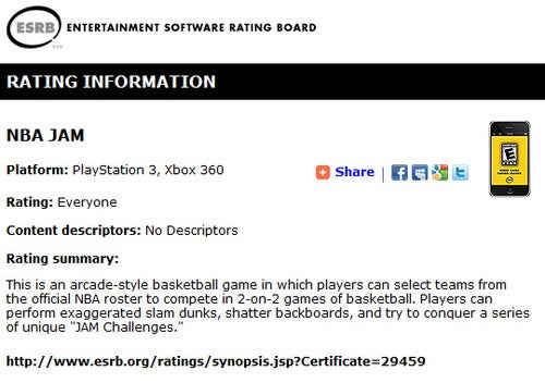 Yeah, Looks Like NBA Jam Is Coming To The Xbox 360 & PS3
