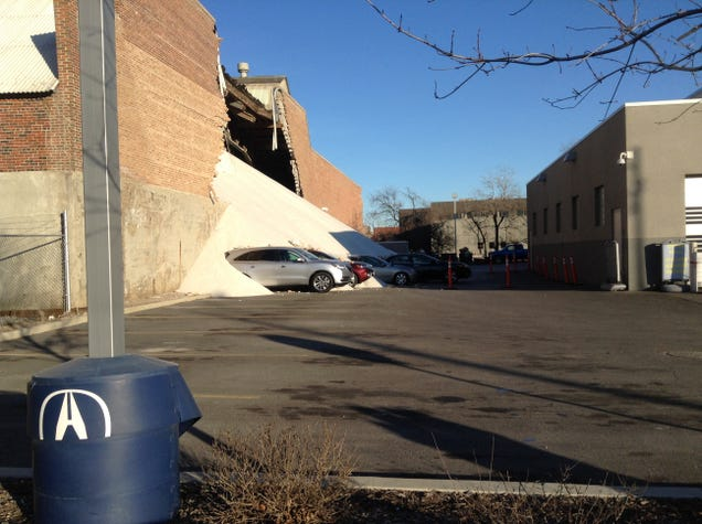 Salt Storage Warehouse Collapses, Chicagoans Unfazed