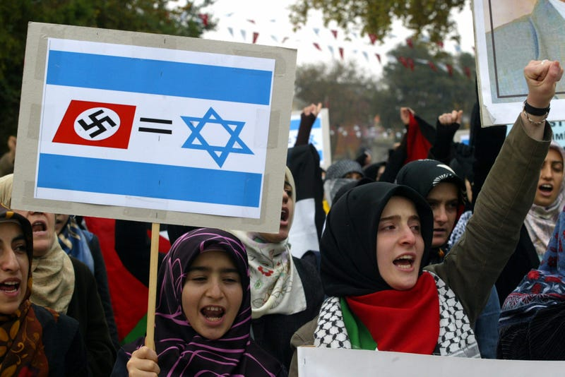 "Israelis Hate Being Called Nazis, So They're Banning the Word ""Nazi"""