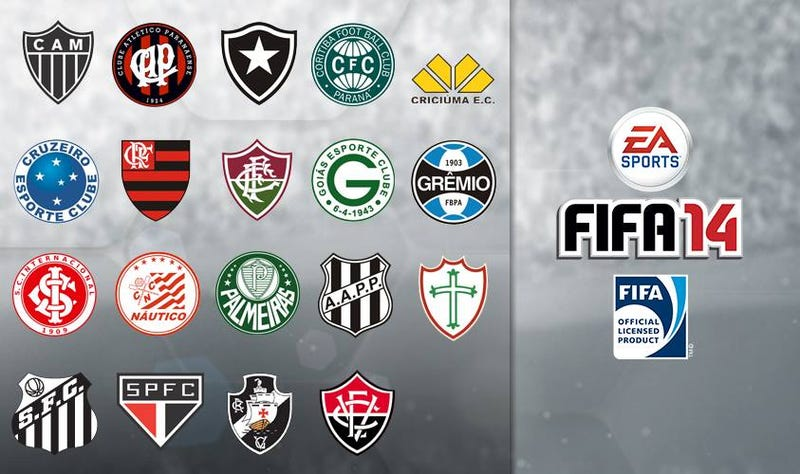 FIFA 14 to Add Nine Brazilian Clubs to Its Lineup