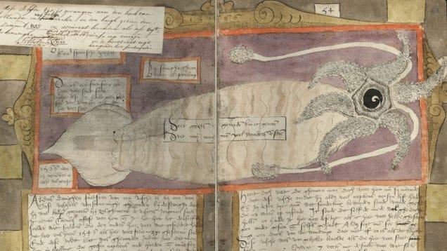 Centuries-Old Drawings of Europe's Greatest Sea Monsters