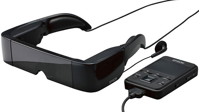 Epson's Transparent Video Glasses Let You See the Judgmental Stares of Others