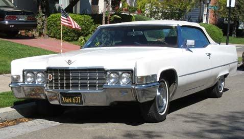 1969 Cadillac Coupe de Ville Convertible