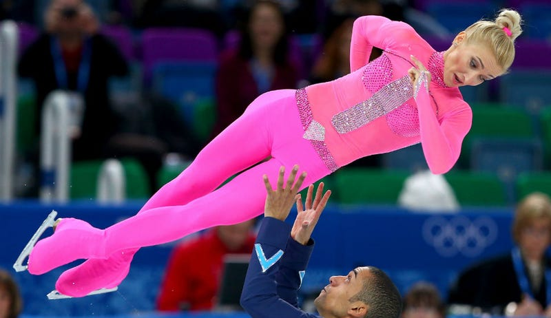 This Pink Panther Body Suit Is the Greatest Figure Skating Outfit Ever