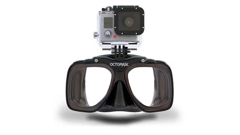 The Ocotomask's Built-In GoPro Mount Allows a Hands-Free Life Aquatic