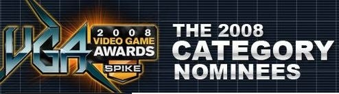 Spike TV Announces Nominees for 6th VGAs