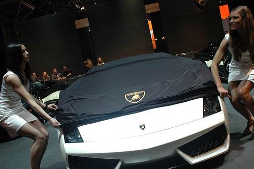 Lamborghini Gallardo LP560-4 North American Premiere