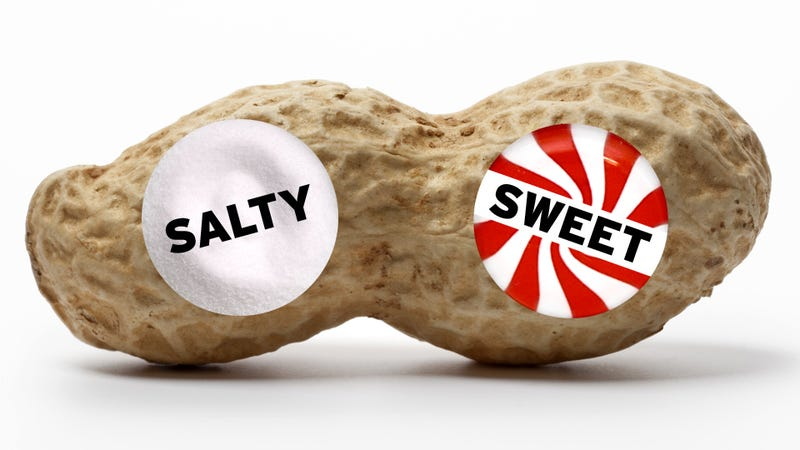 Are Nuts Salty or Sweet?