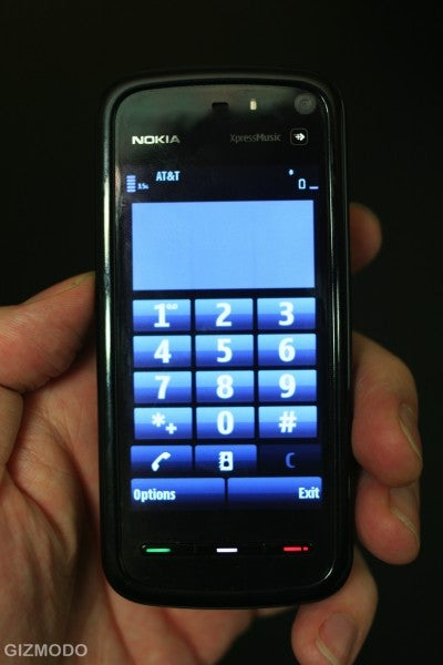 Nokia 5800 XpressMusic: Hands-on With Nokia's First S60 Touch Phone