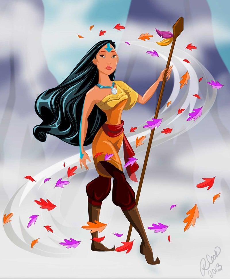 Disney Princesses as Avatar characters!