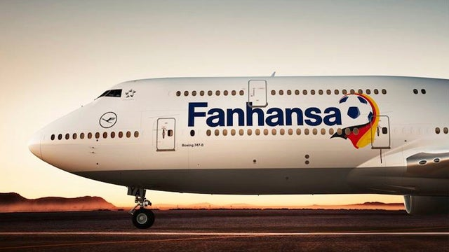 Lufthansa Renames Eight Of Its Planes For The World Cup