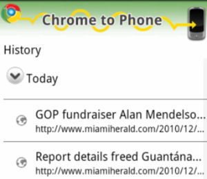 Chrome to Phone for Android Adds Link-Sending History, Gets Much More Convenient