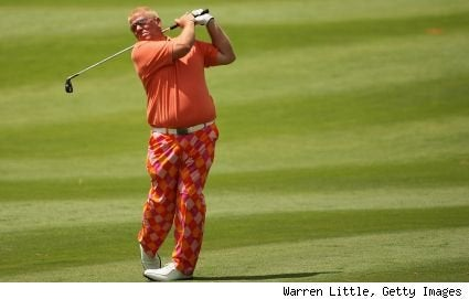 John Daly Has Slimmed Down, Orange'd Up