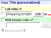 Add a to-do list to your Google homepage