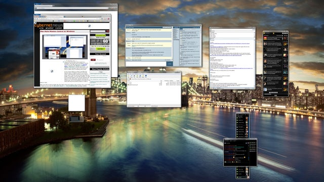 Bring OS X Lion's Mission Control Window Preview Feature to Windows