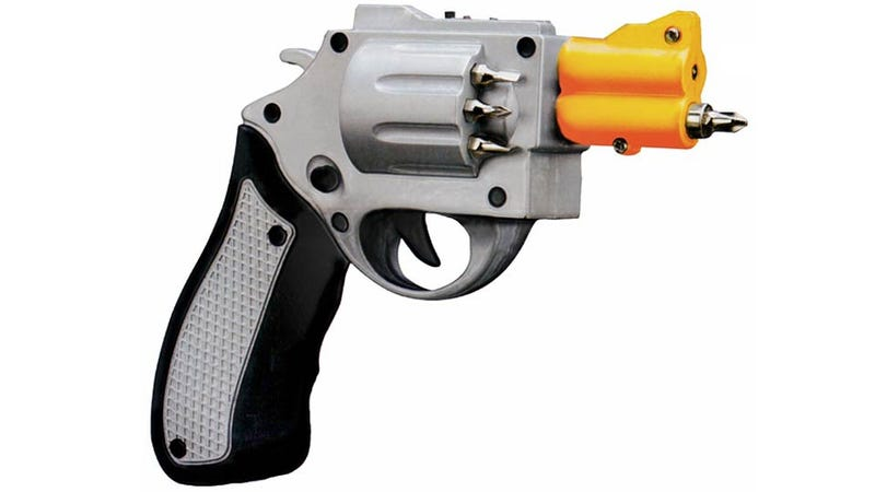 Handgun Electric Screwdriver: Do I Feel Handy? Well, Do Ya, Punk?
