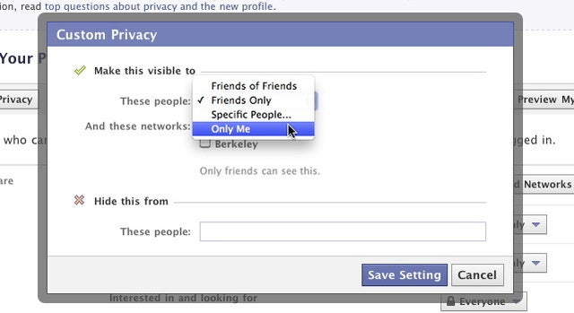 How To Keep Facebook from Humiliating You Today