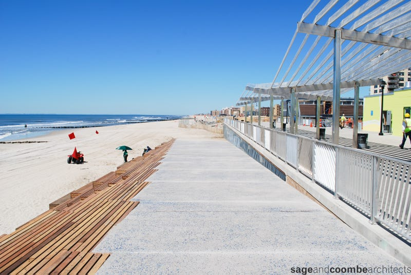 NYC's Effort to Rebuild Its Beaches in Just Five Months
