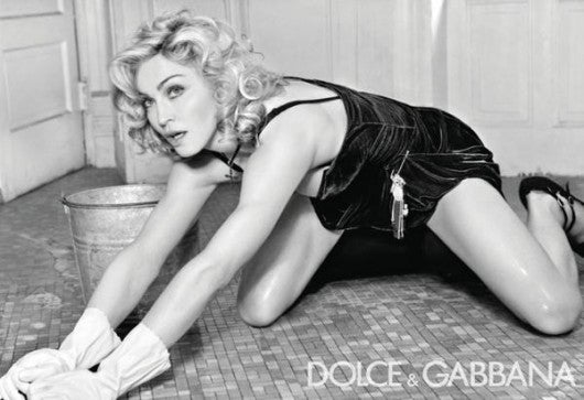 Madonna's Dolce & Gabbana Pics Pre-Photoshop