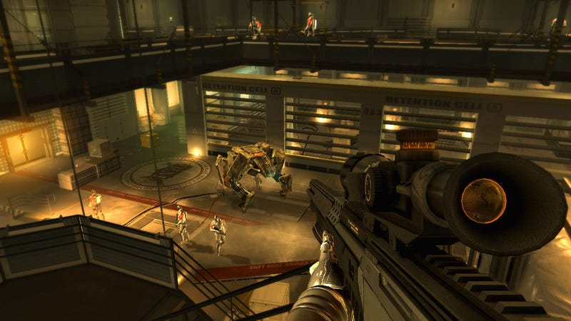 Deus Ex: Human Revolution Screens Are Pure Gold