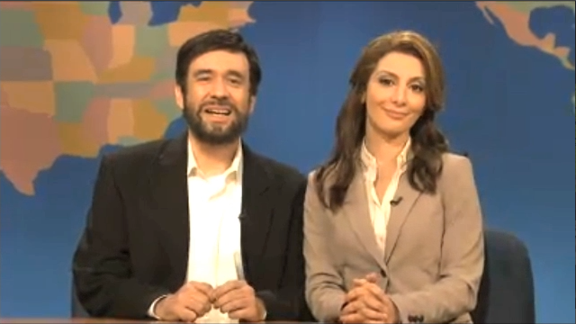 "Fake Mahmoud Ahmadinejad Plays ""Jew or Homosexual"" on Weekend Update Thursday"