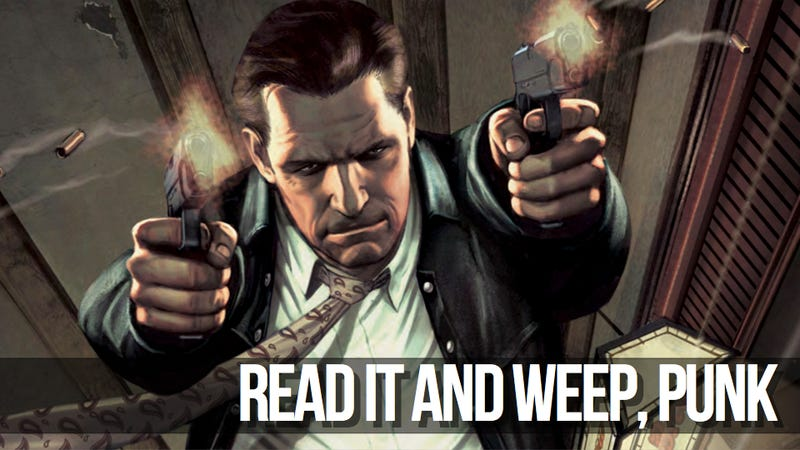 Those Max Payne Comics? They're Pretty Good.