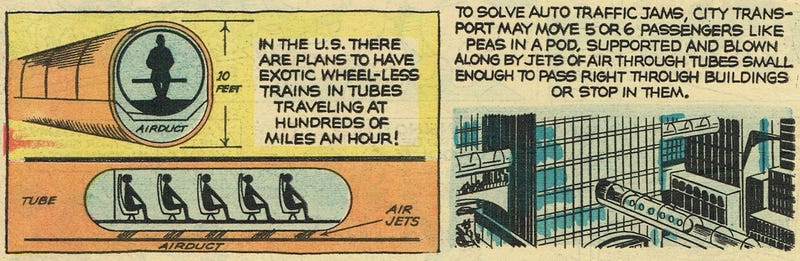 This Futuristic Train From 1965 Looks a Lot Like the Hyperloop