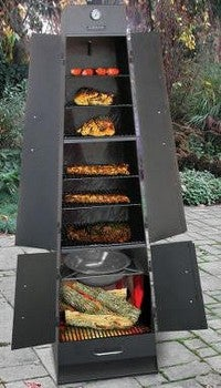 BBQ Tower Smoker Can Handle All Kinds of Meat, At Once