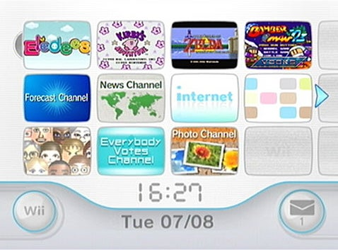 Wii Gets a Firmware Update, #1 Feature is a Clock...