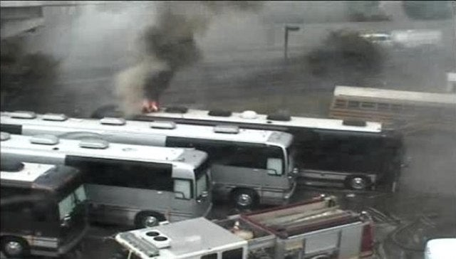 Styx and Foreigner's Tour Buses Catch Fire in Philly Parking Lot