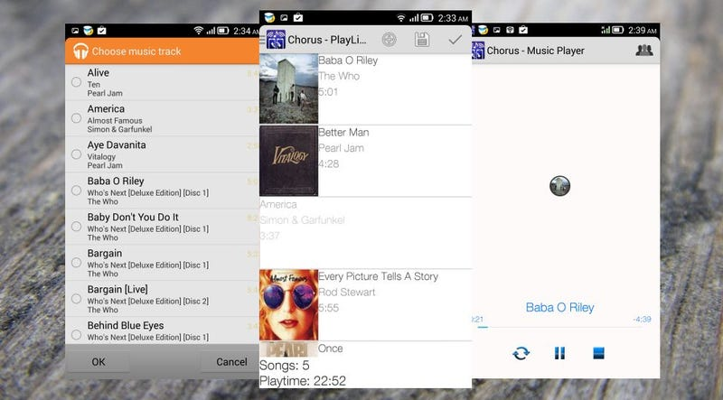 Chorus Beams Music to Multiple Android Devices at Once