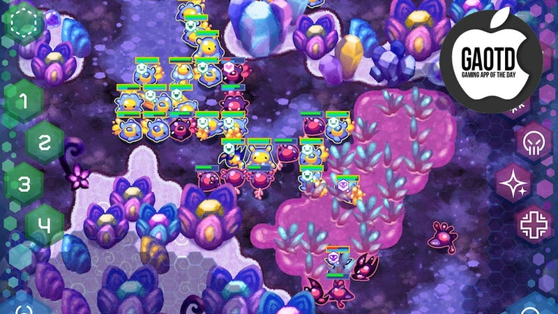 Amoebattle Is Loaded With Smart and Challenging Touch-Screen Strategy