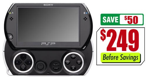 Fry's Knocks $50 Off PSPgo Price