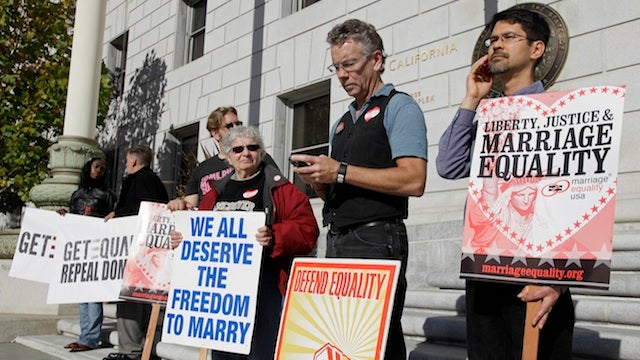 Appeals Court Strikes Down California's Bigoted, Pointless Gay-Marriage Ban