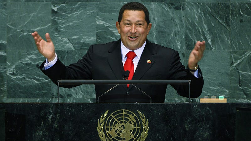 Chavez Daughters Won't Stop Partying in the Presidential Palace