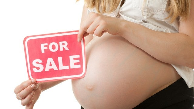 Mother Tries To Sell Baby So She Can Go To Disney World