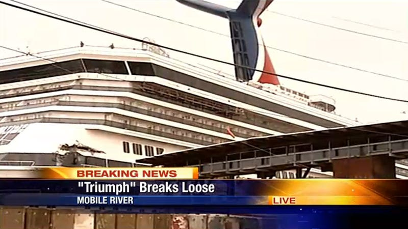 Accursed Shit-Scabbed Hell Cruise Breaks Loose from Dock in Search of More Victims