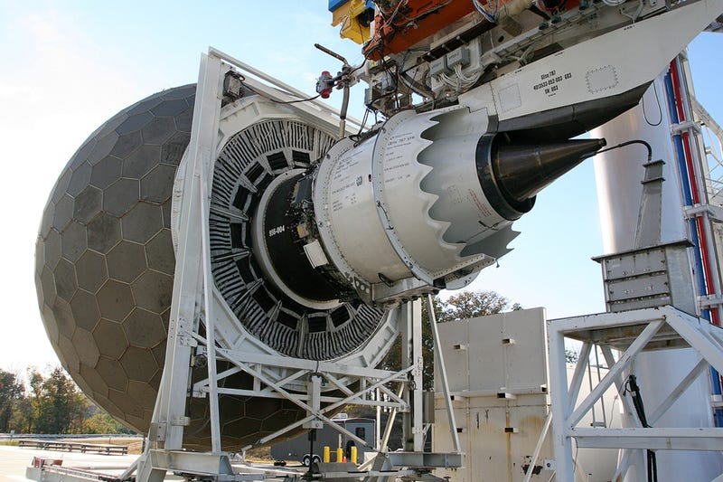 Real Life Death Star? No, It's How GE Tests Jet Engines