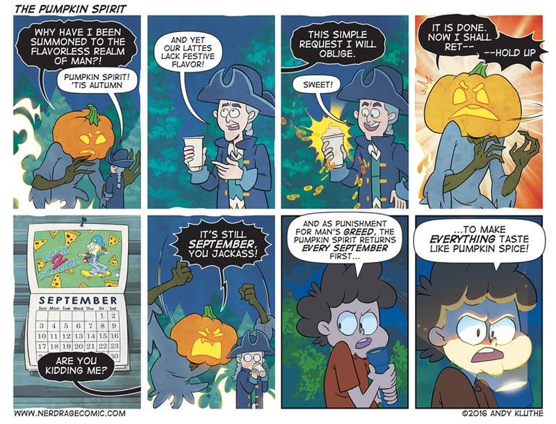 Sunday Comics: Don't Look Now