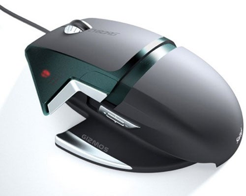 Saitek Cyborg 3200dpi Gaming Mouse Is Ugly, Super Customizable