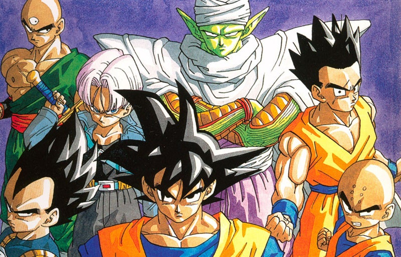 """Isn't Dragon Ball just a bunch of speedlines and ripped dudes with bad hair screaming """"It's over 9,000!"""""""
