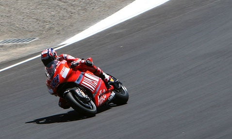 Moto GP at Laguna Seca: It's Over, and No Surprise