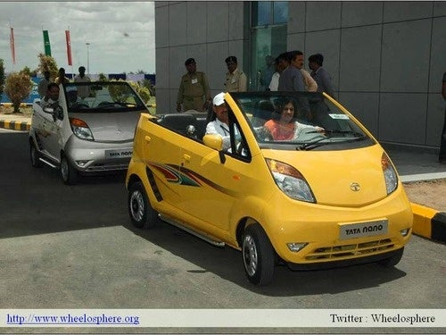 Tata Nano Convertible Is A Darwin Award Prospect