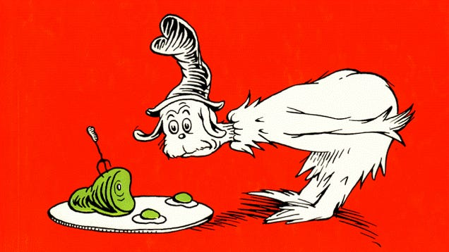 Use chemistry to make literal green eggs (the ham is up to you)